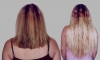 Hair Extension Before & After Shots
